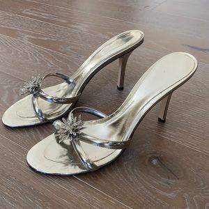 Nine West Faux Leather Evening Sandal 9.5M